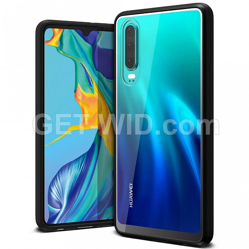 VRS Design Huawei P30 Case Crystal Chrome