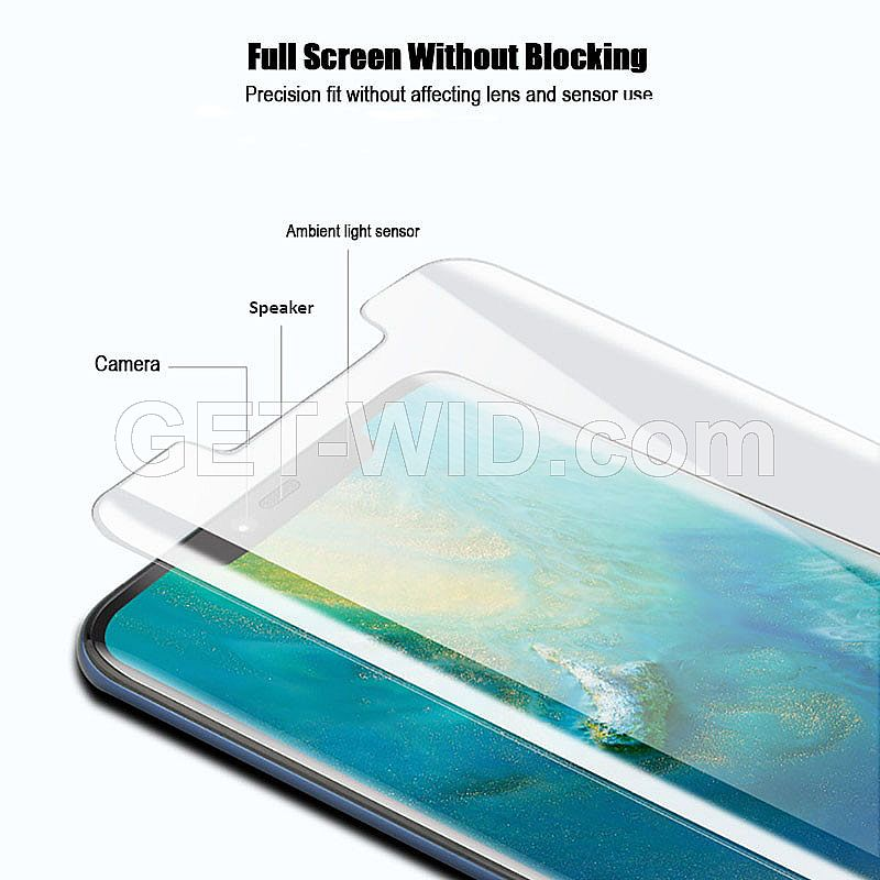 UV Tempered Glass Huawei Mate 20 Pro